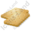 Baked Good Cracker Icon, AI,