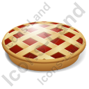 Baked Good Pie Icon, PNG/ICO, 128x128