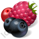 Berries Icon, PNG/ICO, 128x128