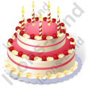 Cake Birthday Cake Icon
