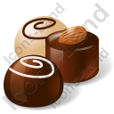 Candy Chocolate Sweets Icon, PNG/ICO, 128x128