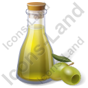 Condiment Olive Oil Cruet Icon