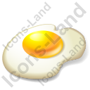 Egg Fried Egg Icon