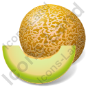 Fruit Melon Icon, PNG/ICO, 128x128