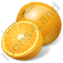 Fruit Orange Icon, PNG/ICO, 128x128