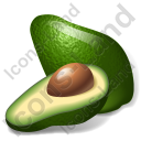 Vegetable Avocado Icon, PNG/ICO, 128x128