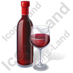 Alcohol Wine Red Wine Bottle Icon, PNG/ICO, 256x256