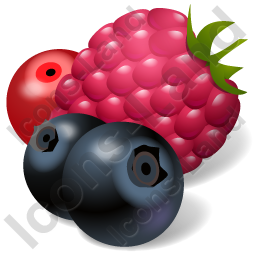 Berries Icon, PNG/ICO, 256x256