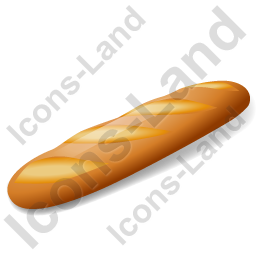 Bread Baguette Icon
