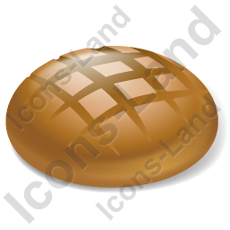 Bread Brown Bread Icon