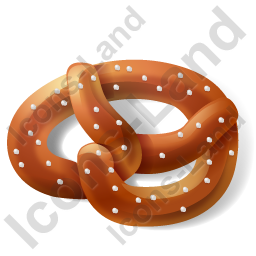Bread Pretzel Icon