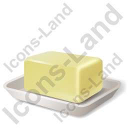 Butter Icon, AI, 256x256