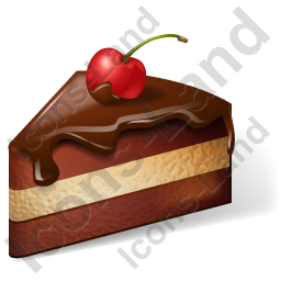 Cake Chocolate Cake Icon, PNG/ICO, 256x256
