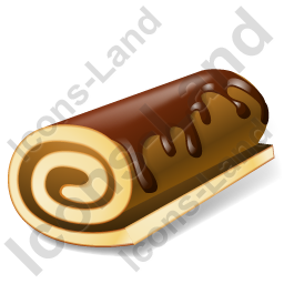 Cake Swiss Roll Icon