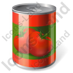 Can Canned Tomato Icon