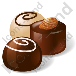 Candy Chocolate Sweets Icon, PNG/ICO, 256x256