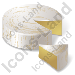 Cheese Brie Icon, PNG/ICO, 256x256