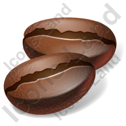 Coffee Bean Icon