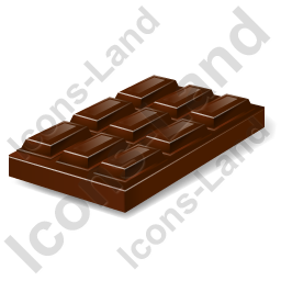 Confection Chocolate Bar Icon, PNG/ICO, 256x256
