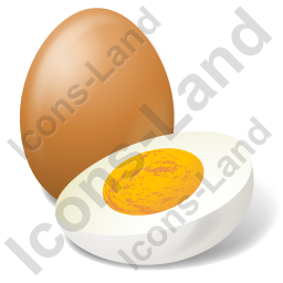 Egg Boiled Egg Icon