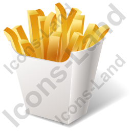 Fast Food French Fries Icon