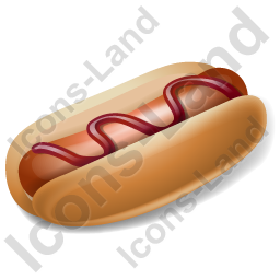 Fast Food Hotdog Icon