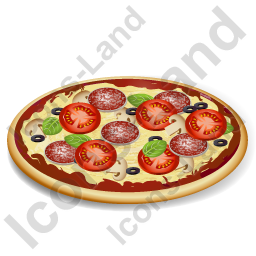 Fast Food Pizza Icon