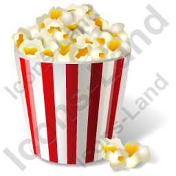 Fast Food Popcorn Icon