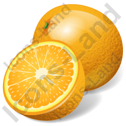 Fruit Orange Icon, PNG/ICO, 256x256