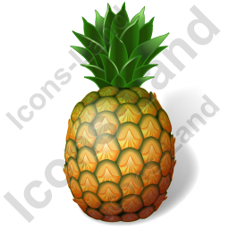 Fruit Pineapple Icon