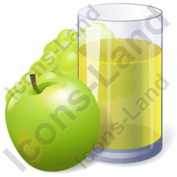 Juice Apple Grape Juice Icon
