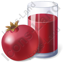 Juice Pomegranate Juice Icon, PNG/ICO, 256x256