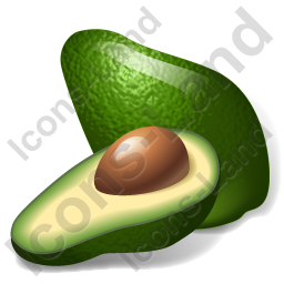 Vegetable Avocado Icon, PNG/ICO, 256x256