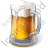 Alcohol Beer Light Beer Icon, PNG/ICO, 48x48