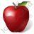Fruit Apple Red Icon, PNG/ICO, 48x48