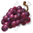 Fruit Grapes Purple Icon, PNG/ICO, 48x48