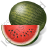 Fruit Watermelon Icon, PNG/ICO, 48x48