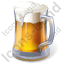 Alcohol Beer Light Beer Icon, PNG/ICO, 64x64