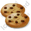 Baked Good Chocolate Chip Cookie Icon