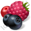 Berries Icon, PNG/ICO, 64x64