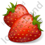 Berry Strawberry Icon