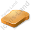 Bread Toast Icon, PNG/ICO, 64x64