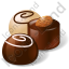 Candy Chocolate Sweets Icon, PNG/ICO, 64x64