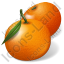 Fruit Mandarin Orange Icon