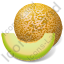 Fruit Melon Icon, PNG/ICO, 64x64