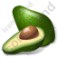 Vegetable Avocado Icon, PNG/ICO, 64x64