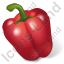 Vegetable Bell Pepper Red Icon