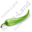 Vegetable Chili Pepper Green Icon