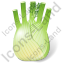 Vegetable Fennel Bulb Icon