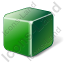 Brick Green Icon, PNG/ICO, 128x128